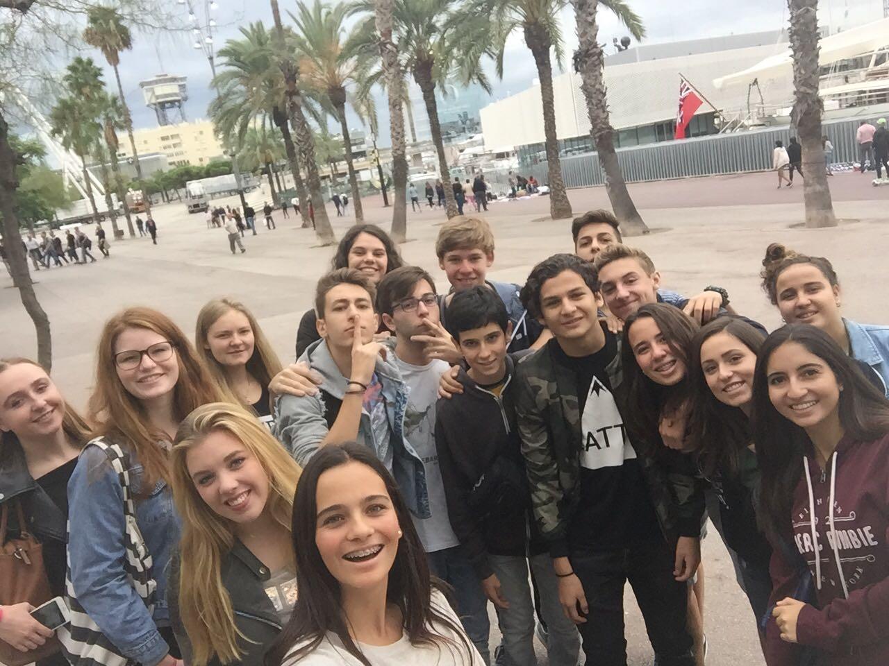 Erasmus-Treffen in Barcelona