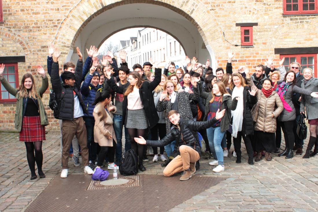 Erasmus-Treffen am Fördegym