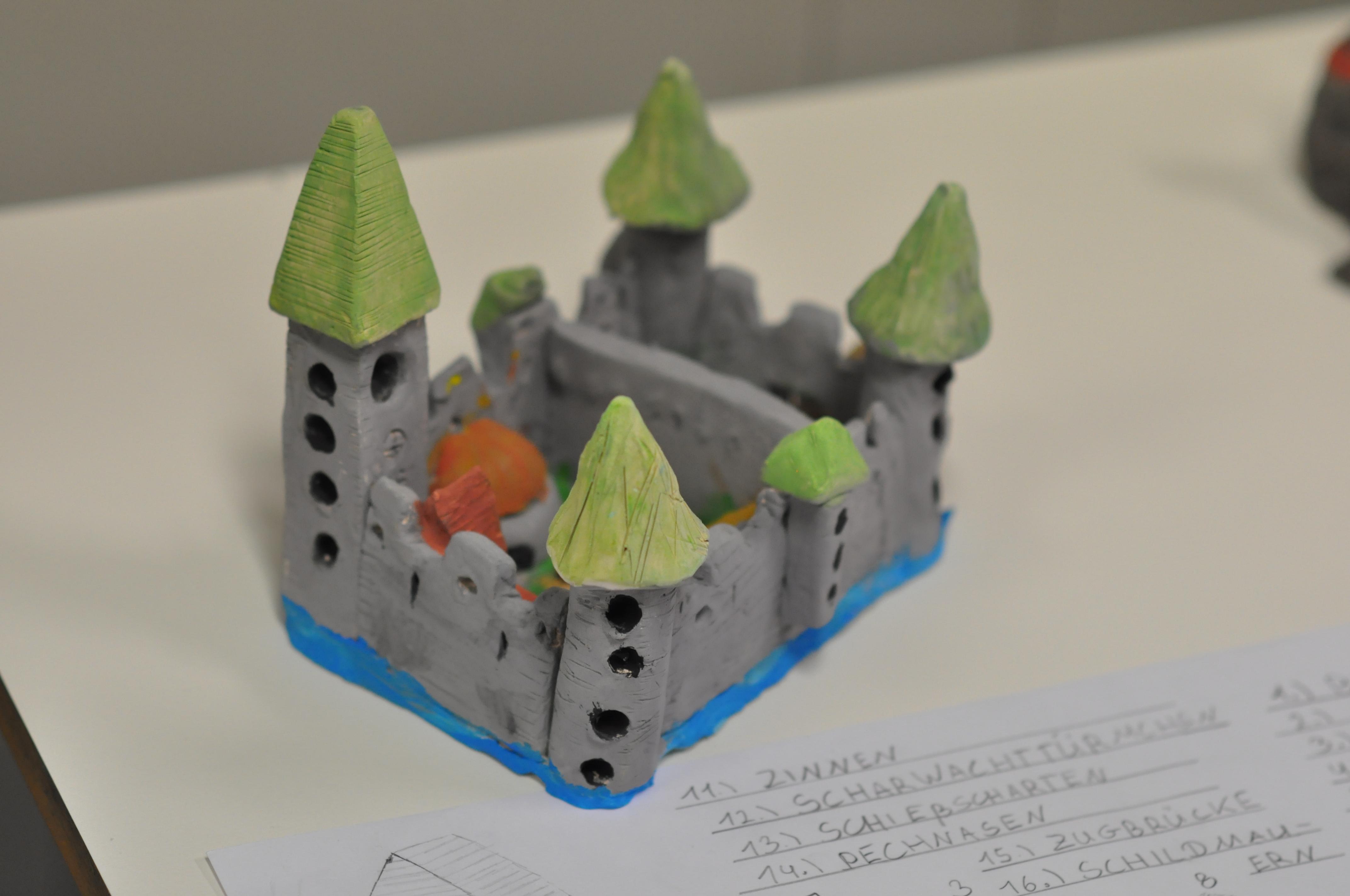 Eine Burg bauen