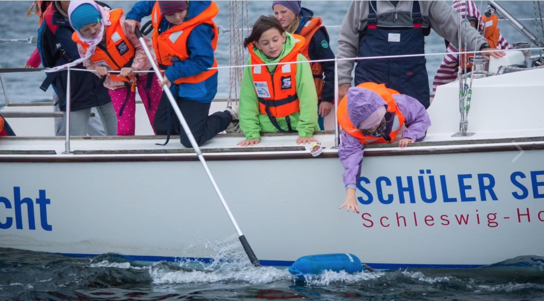 Foto-AG filmt Schul-Cup Segeln