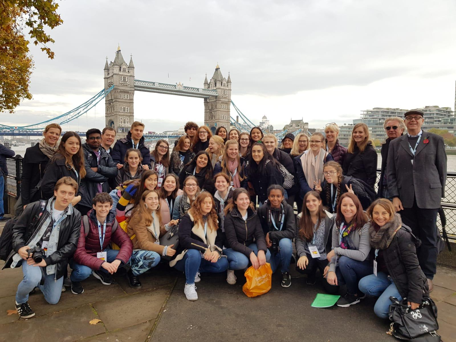 Erasmus-Treffen In London