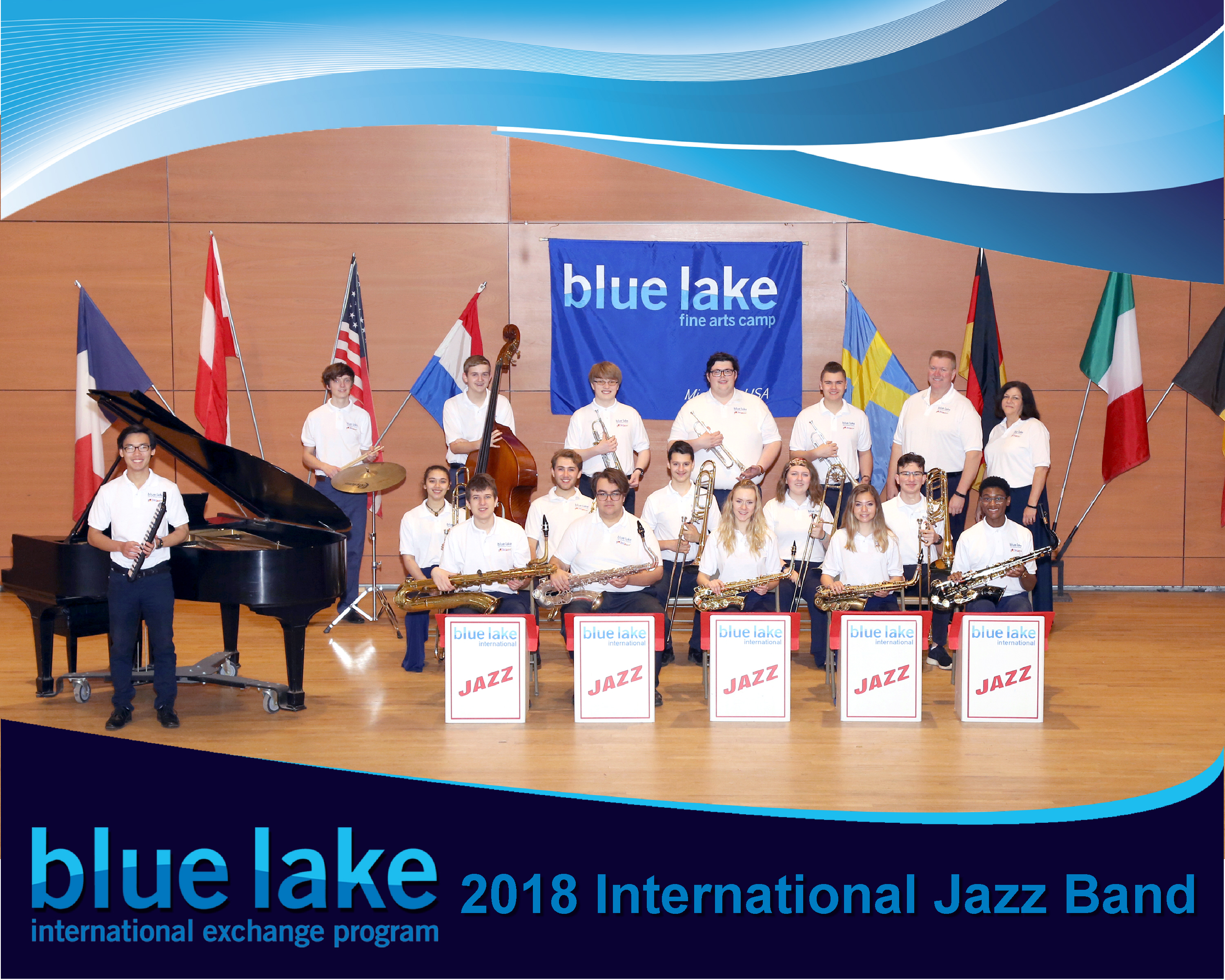 Gastfamilien gesucht – Blue Lake International Jazz Band zu Besuch im Juni