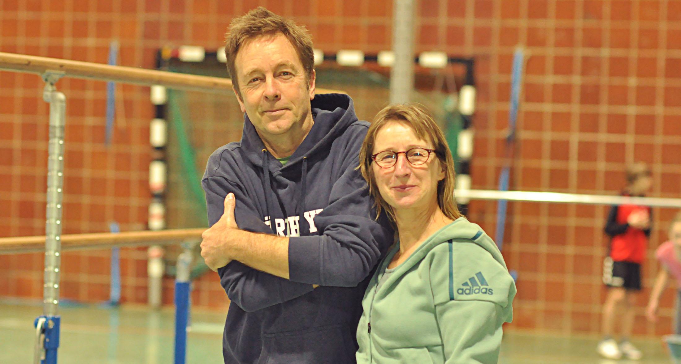 Frau Lack und Herr Henke