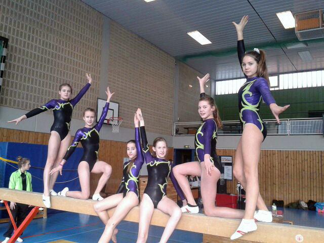 Landesfinale Gerätturnen JtfO WIII Mädchen